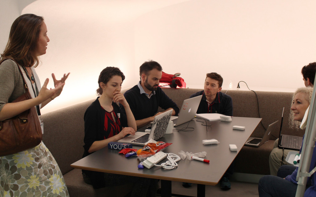 One of the Hackathon teams